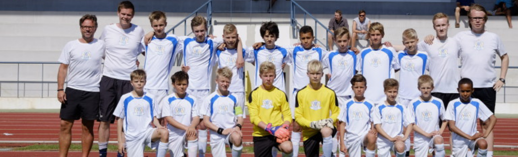 NF Elite Selection U13 participated in Ibercup Estoril in 2015. Five players in the picture are today on national teams and two on professional contracts in England and Germany.