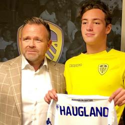 Niklas Edris Haugland, 2002 (Norway U17 and Leeds United)