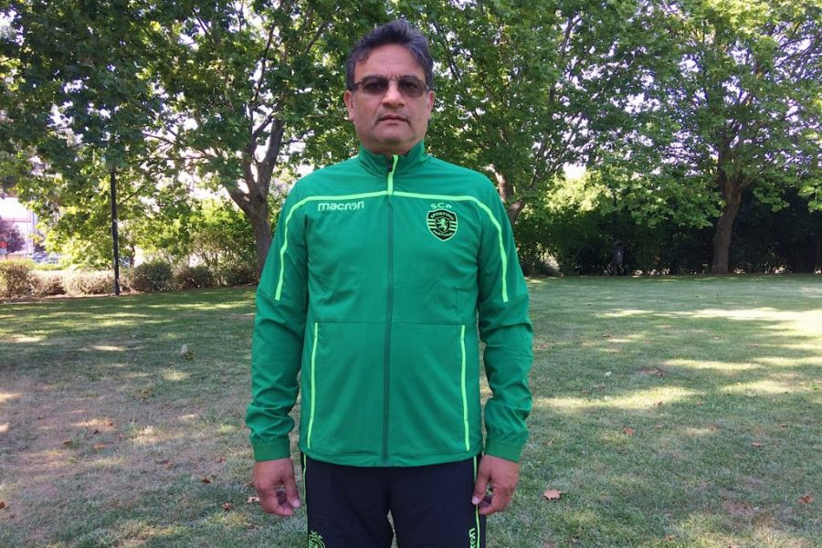 Akil Momade, Sporting CP's scout that will be in NF Elite Qualification Camp in Denmark