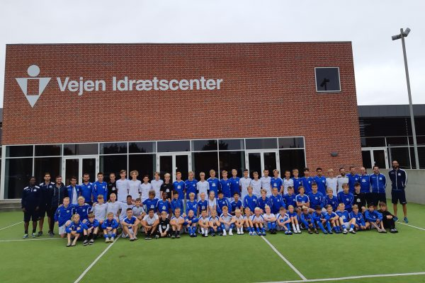 All NF Academy teams participating in Nordic Invitational Cup