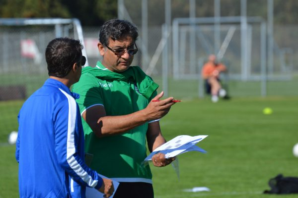 NF Academy Director Gonçalo Nunes and Sporting Scout Akil Momade have selected six players to try out at Sporting Academy