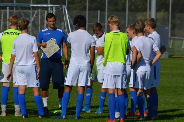 Each team has one experienced NF Academy head coach