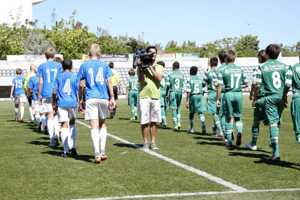 Niklas Haugland was one of the players at NF Elite Selection U13 who lost the quarter-finals against Sporting CP in Ibercup Estoril