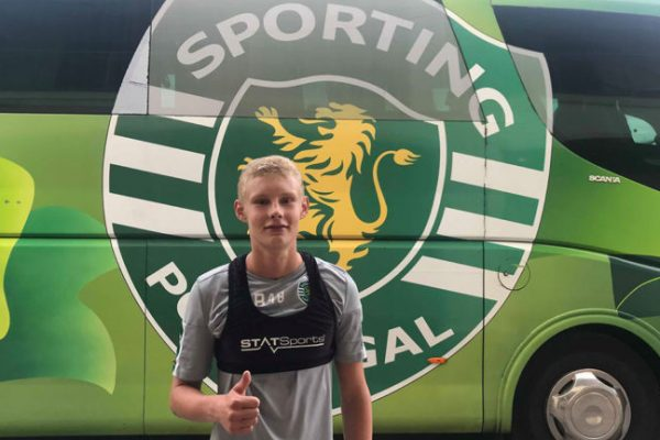 August Frobenius signed a professional contract with Sporting CP this summer.