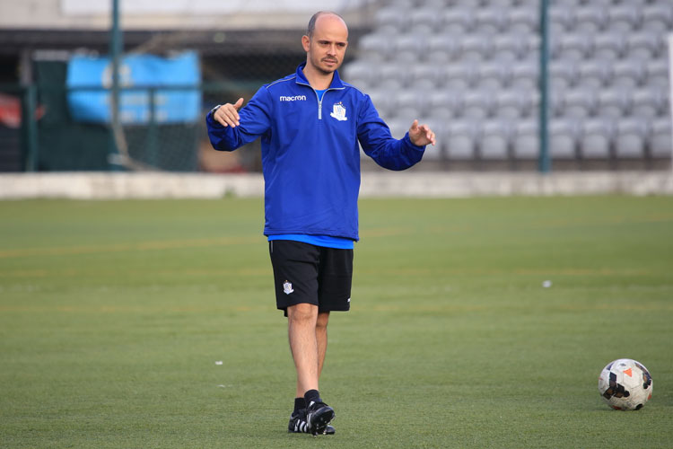 NF Academy Coach João Plantier
