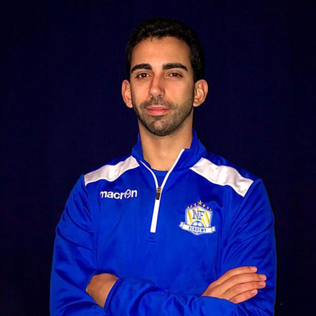 NF Academy Coach David Calado
