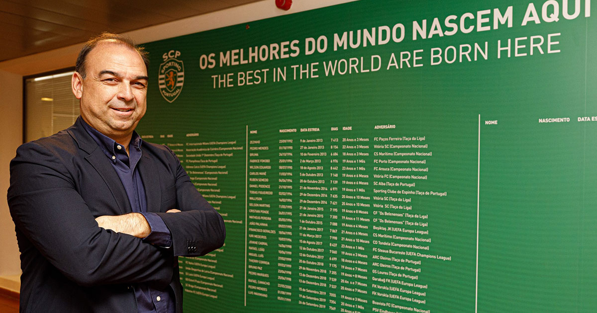 Paulo Gomes in Sporting hopes that the collaboration will be mutual beneficial for NF Academy and Sporting.