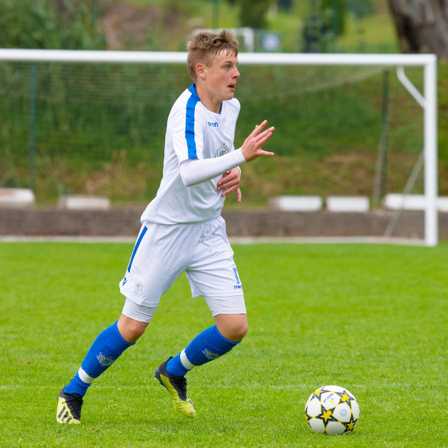 NF Academy player Kimi Storsjö recently signed a contract with the Swedish professional club Kalmar FF.