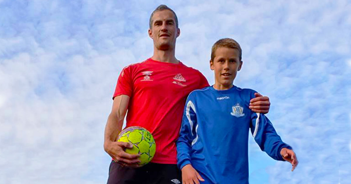 Trygve Lorentzen believes that support from parents has a huge impact on the youth players development.