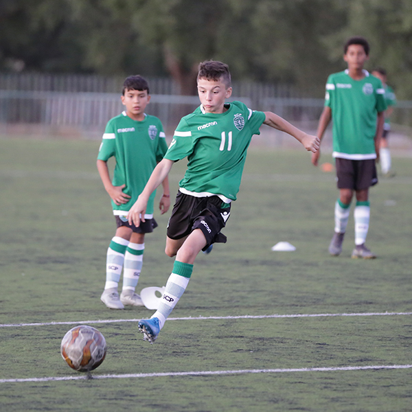 OPPORTUNITY:  This summer NF Academy will prize up to 8 players to join Sporting CP academy during a week.