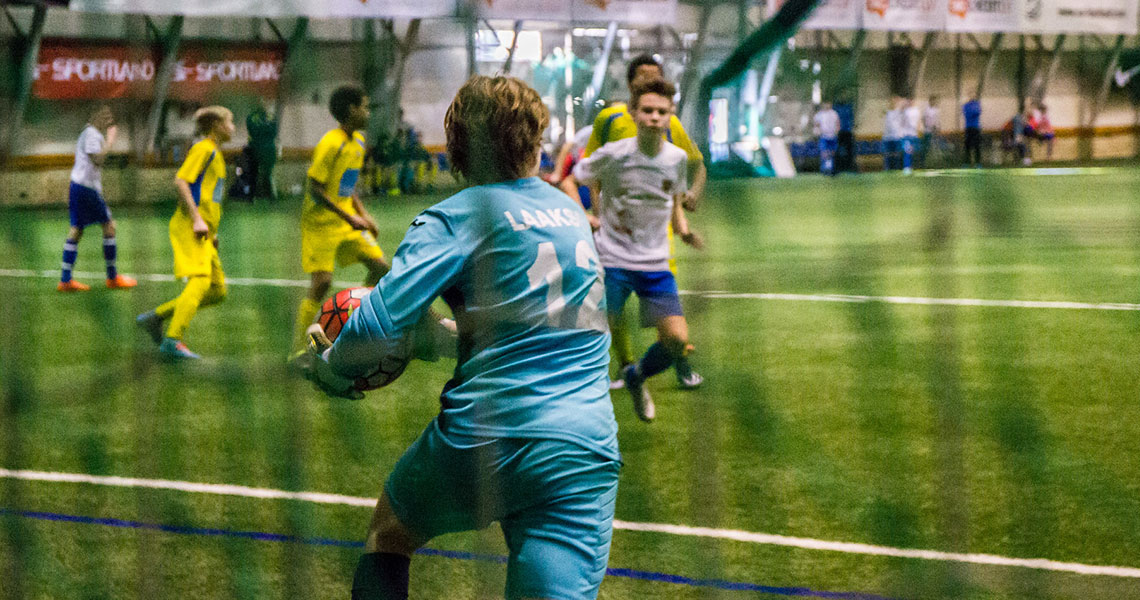 NF Academy Indoor Training Youth Football