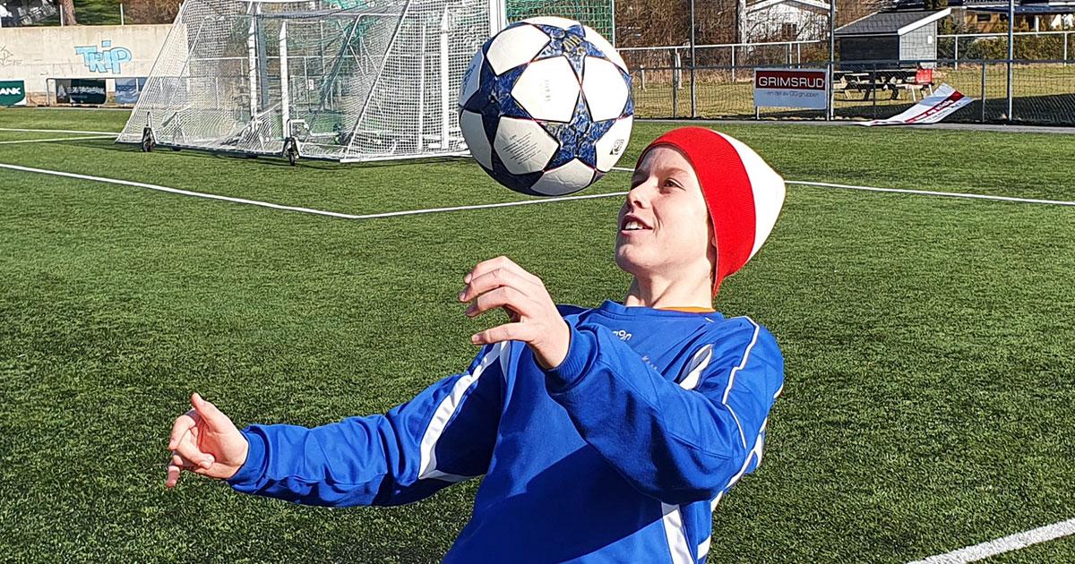 NF Academy Player Kristian Lorentzen