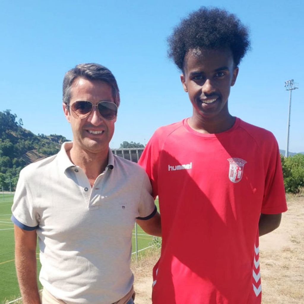 NF Academy Player Bashir Bashiir